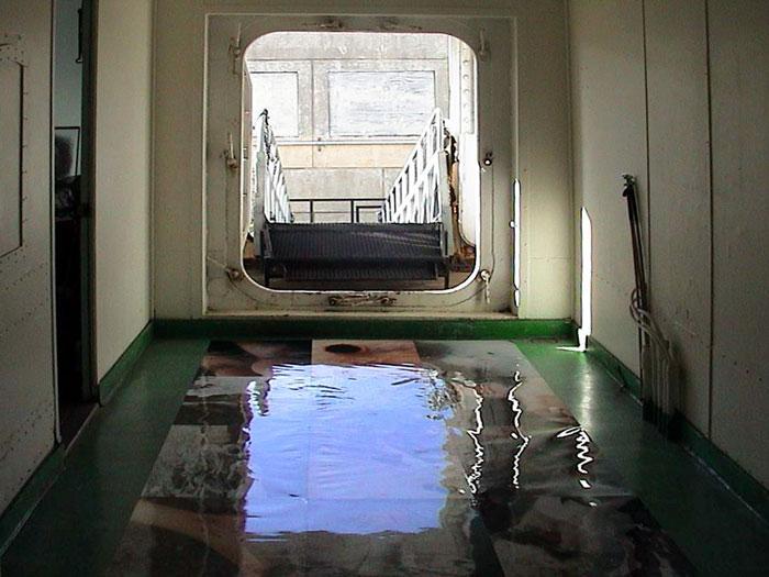 Eingangsbereich des Schiffes
