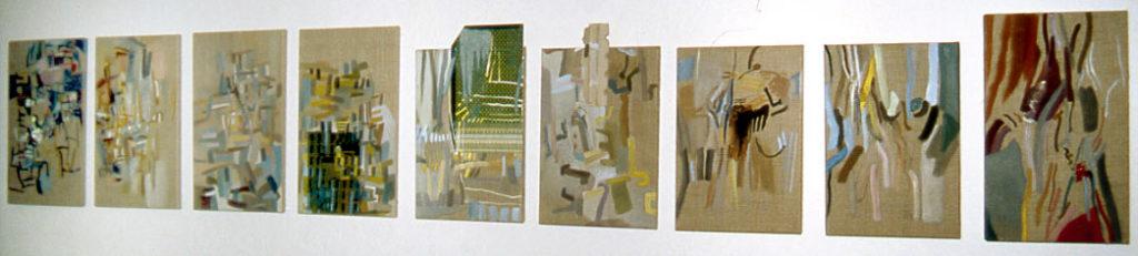 Mauer-Bilder (I-IX)