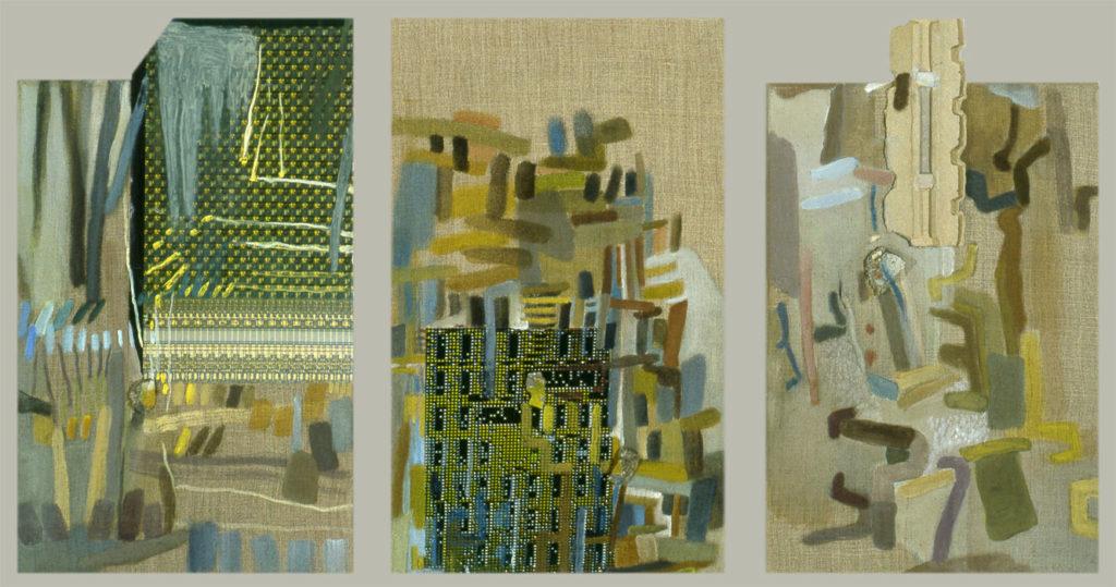 Mauer-Bilder (IV-VI)
