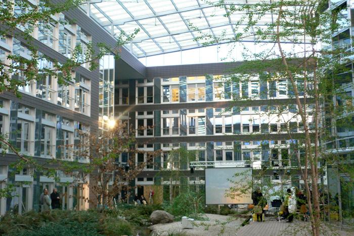 Japanese Garden inside the TBA-Building